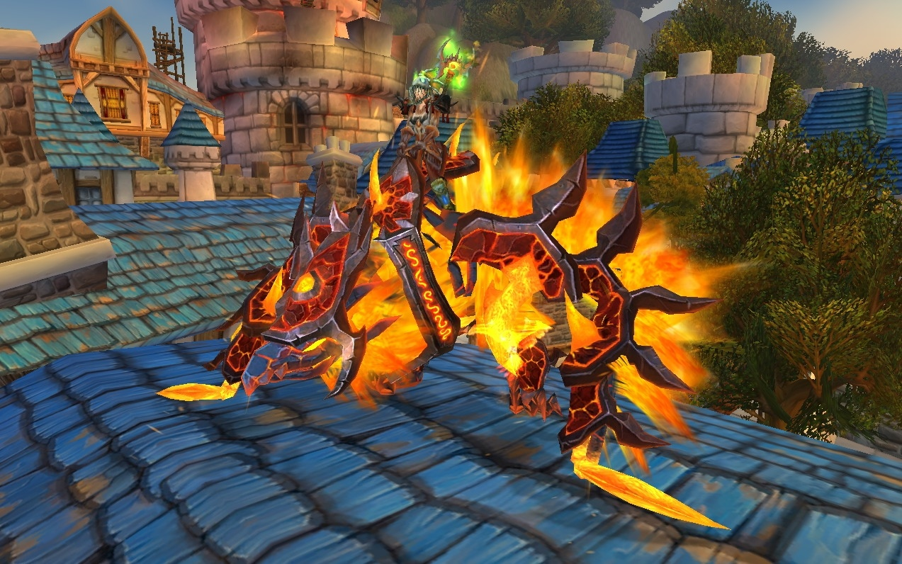World of Warcraft Sparks Controversy with Flying Mount News