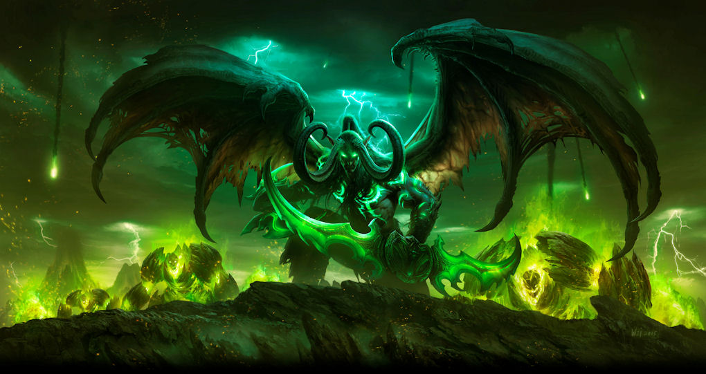 Warcraft Legion Expansion Revealed at Gamescom