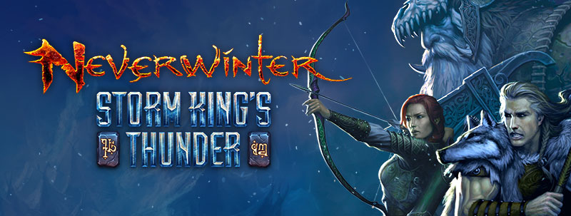 Neverwinter's Storm King's Thunder Launch Date for Consoles