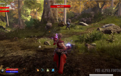 Ashes of Creation Shares Pre-Alpha Gameplay Video