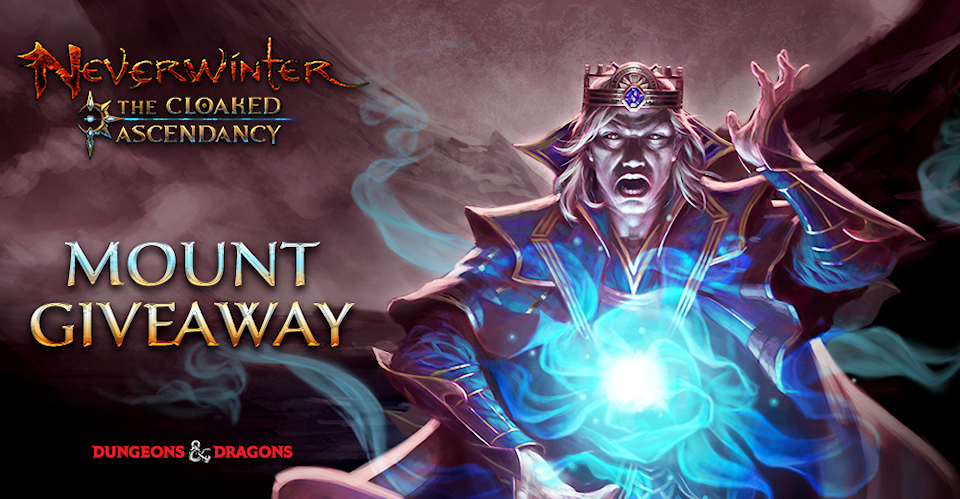 Exclusive Neverwinter Aberrant Gorgon Mount Giveaway