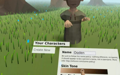 OrbusVR Details Character Creation in New Blog