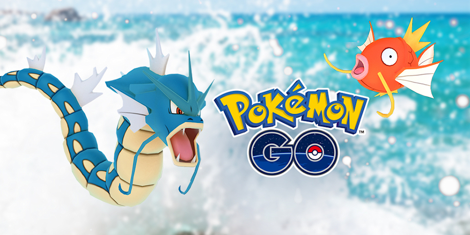 Pokemon GO Launches Water Event, Rare Shiny Magikarp Sighted