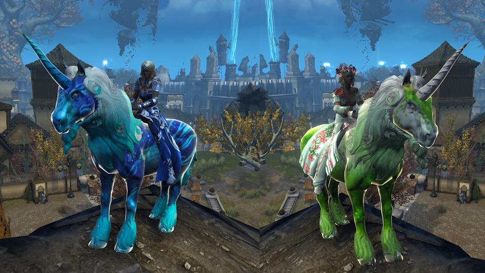 Neverwinter Console Unicorn Mounts