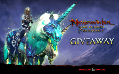 Exclusive Neverwinter Unicorn Mounts for Console Giveaway