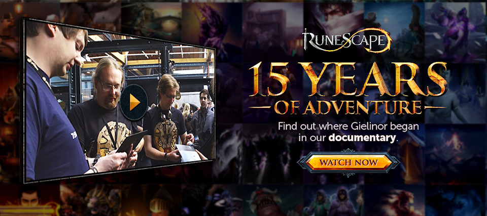 RuneScape Publishes Documentary for 15th Year
