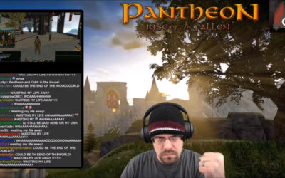 Pantheon Joins Popular Twitch Streamer for Dev Play Events