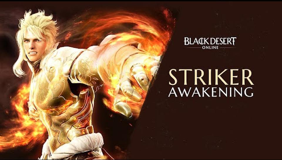 Black Desert Online Announces Launch of Striker Awakening
