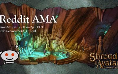 Shroud of the Avatar Hosting Reddit AMA Tomorrow