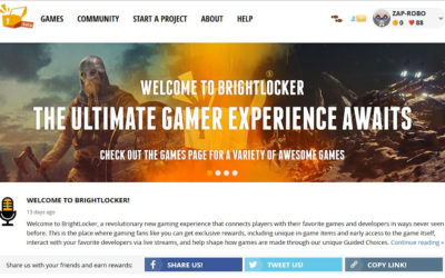 Introducing BrightLocker – Gaming Platform Learns MMO Lessons