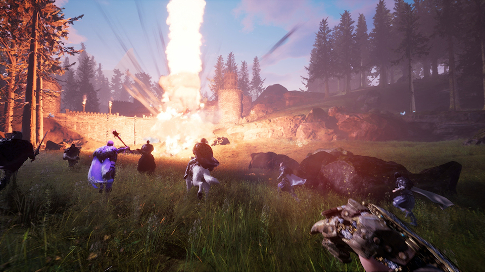 Citadel Offers Open World High Fantasy MMO, Early Access July 26