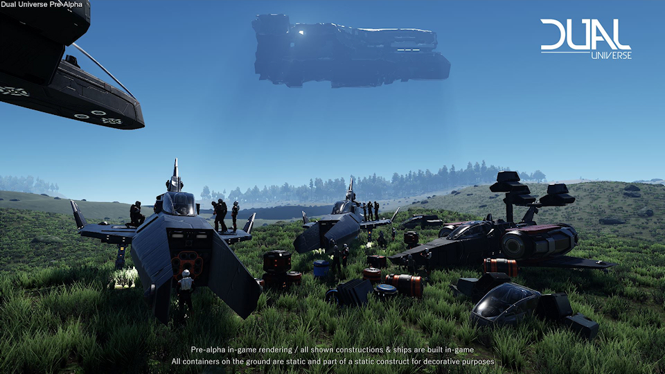 Dual Universe Reaches Pre-Alpha, Shares New Trailer