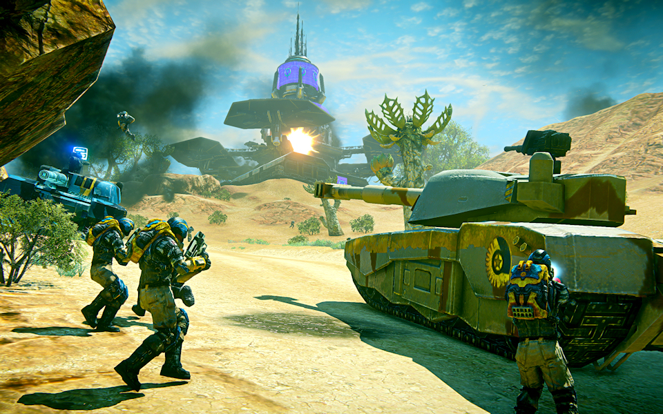 PlanetSide 2 Adds New Features to PTS