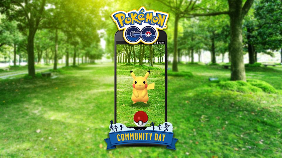 Pokémon GO Announces Community Day Event