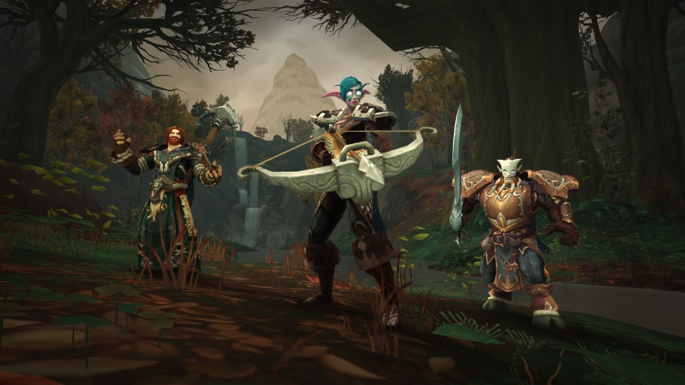 Warcraft Releases Battle for Azeroth Class Design Blog