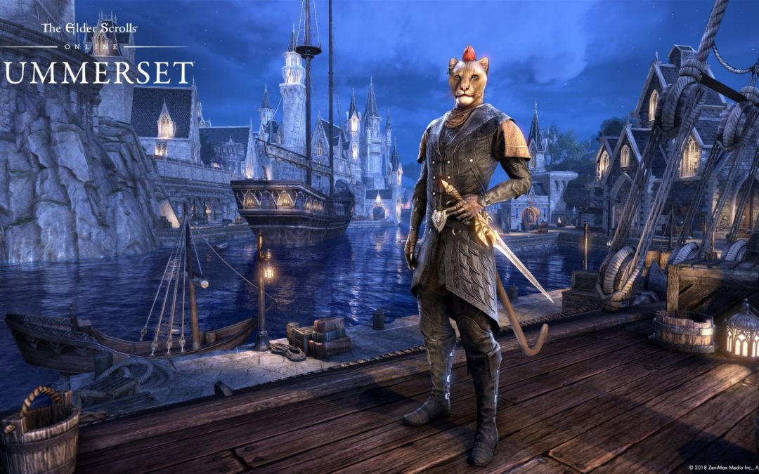 [PAX East 2018] Elder Scrolls Online: Summerset is Coming