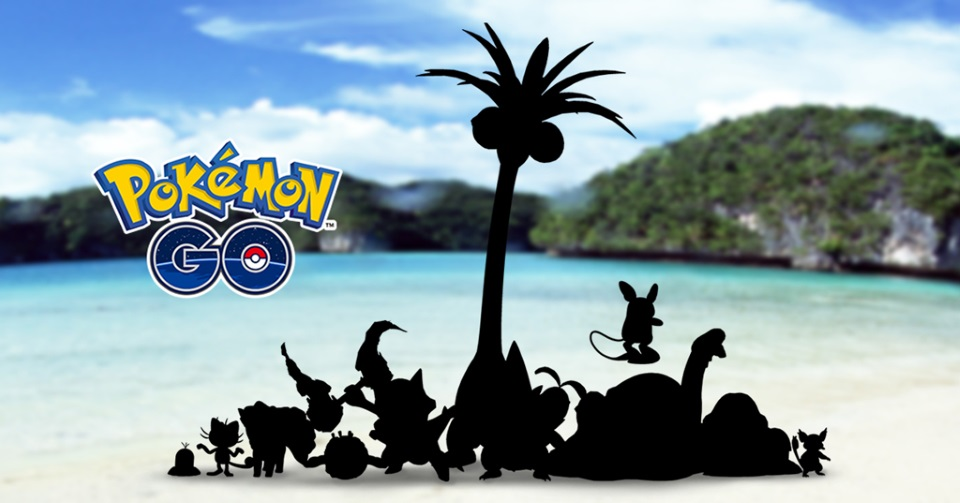 Pokémon GO to Introduce Sun and Moon Alolan Variants