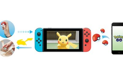 Pokémon GO to Integrate with New Switch Game and Peripheral
