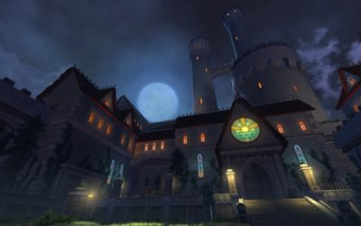 Neverwinter Blog Shows the Art of Castle Ravenloft
