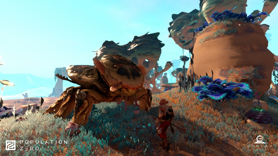 Population Zero Leaving Pre-Alpha, Previews New Biomes