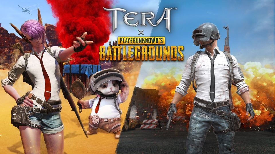 TERA Teams with PUBG for Ingame Events and Items