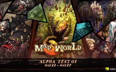 Mad World Announces Alpha Test on May 22nd